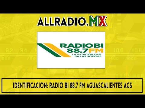 Identificacion: Radio BI 88.7 FM Aguascalientes Ags. 2020