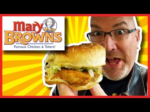 Mary Brown's Big Mary with Spicy Mayo  and lots of Bloopers