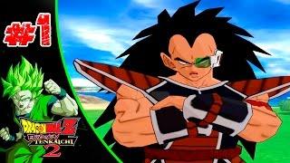 Dragon Ball Z Budokai Tenkaichi 2 | Capítulo 1 | El nacimiento del guerrero Saiyan