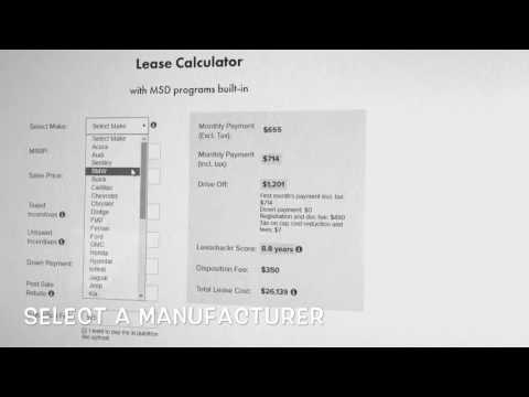 2017 BMW lease payment calculator instruction YouTube – Lease Payment Calculator
