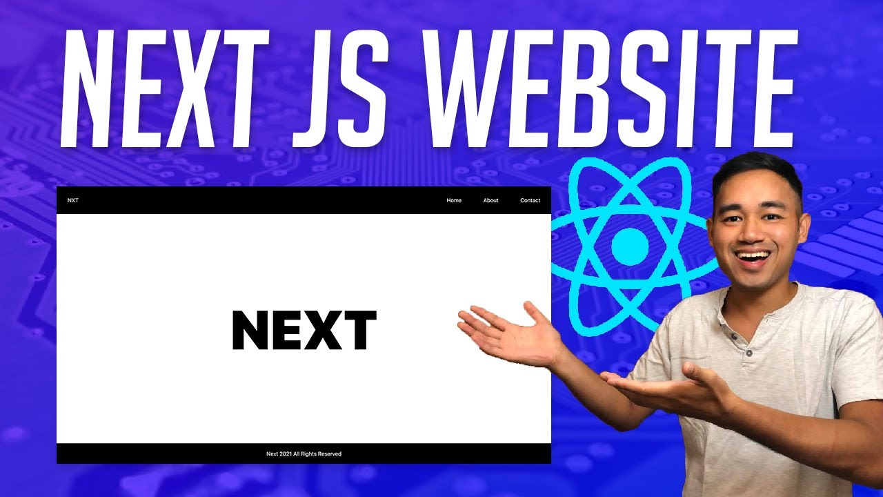 How to Make a React Next JS Website - Beginner Tutorial Using Styled Components