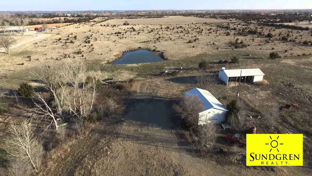 Kansas butler county augusta - 56 1 Acres In Butler County Kansas Pasture Pond Building For Sale By Auction