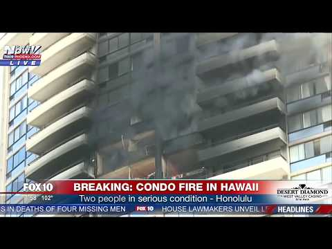 PARADISE LOST: DEADLY Fire Destroys Condo Units In Hawaii (FNN)