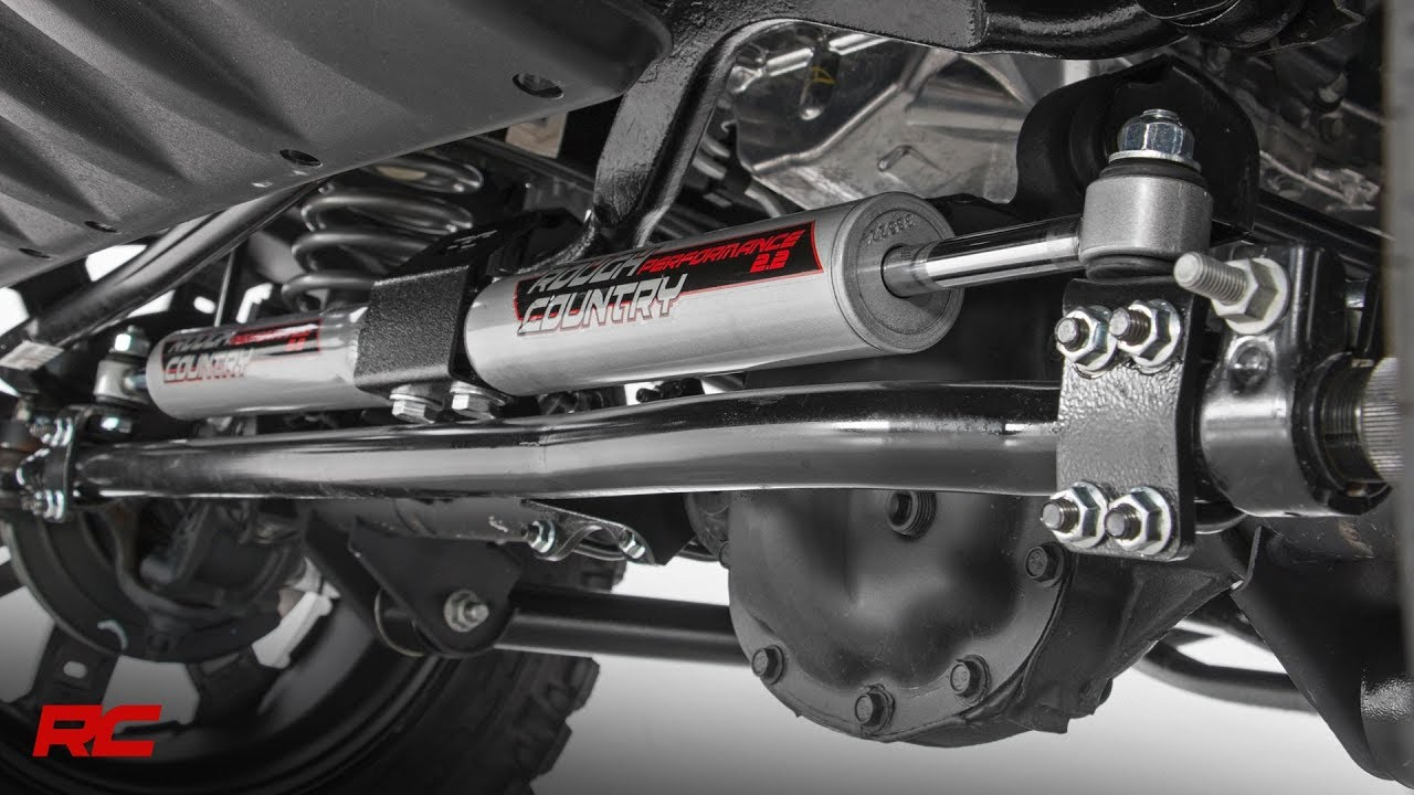 Installing Jeep Wrangler JK 2 2 Dual Steering Stabilizer by Rough Country