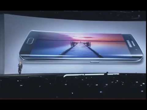 Samsung Galaxy S6 and S6 Edge at MWC 2015 Barcelona