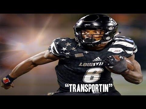 "Lamar Jackson Kodak Black ""Transportin"" Highlights"