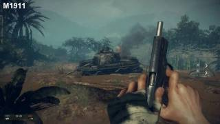 Battlefield Bad Company 2: Vietnam - All Weapons Gameplay [ PC ]