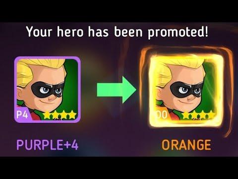 Disney Heroes Battle Mode: Promoting Dash To Orange (O0) & Gameplay