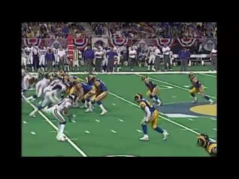 Marshall Faulk Screen (Vikings vs Rams 1999 NFC Divisional Playoff Game)
