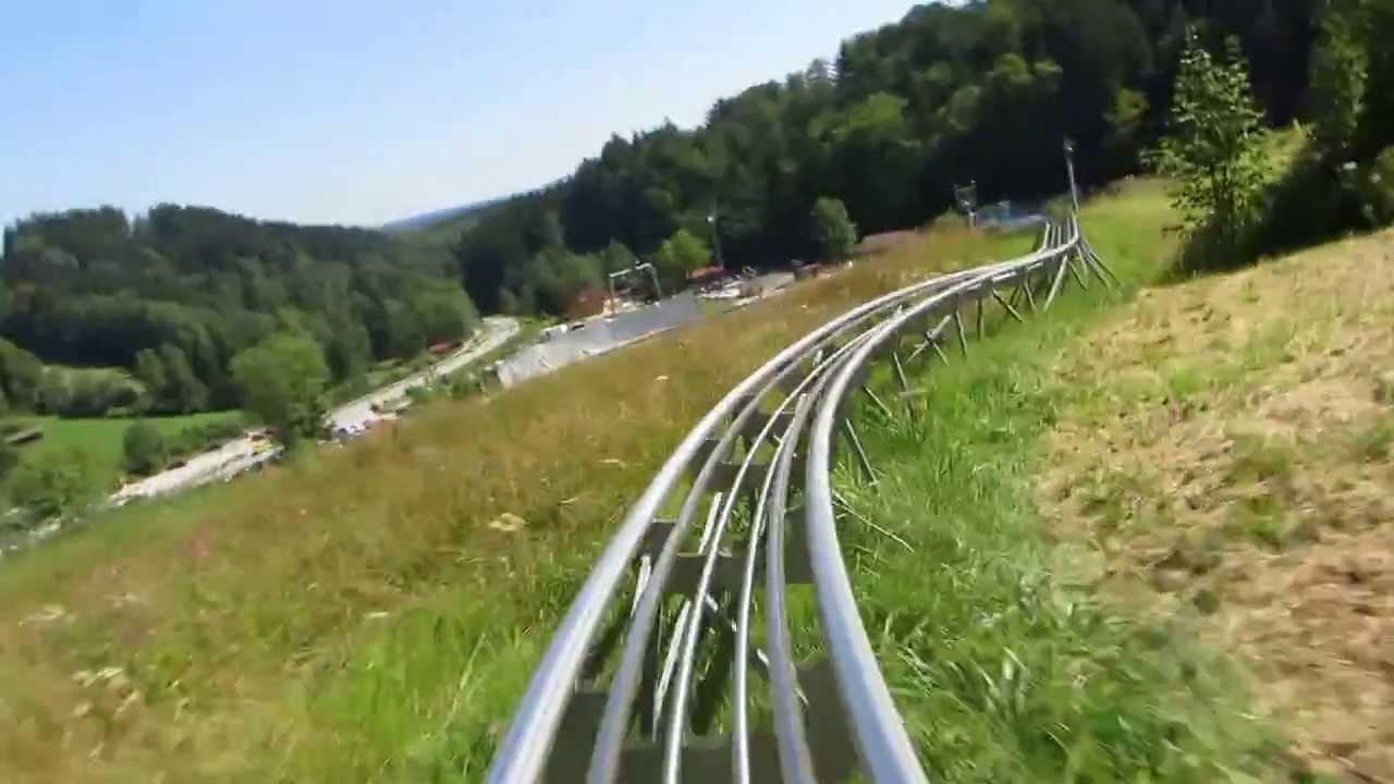 sommerrodelbahn blomberg alpin coaster bad t lz youtube. Black Bedroom Furniture Sets. Home Design Ideas