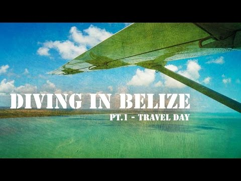 Los Angeles to Belize travel day - It was a long day...