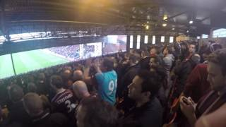 West Ham Fan TV On The Terraces : Selhurst Park