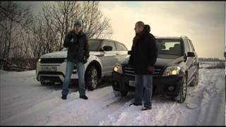 range Rover Evoque vs Mercedes-Benz GLK / Тест-драйв