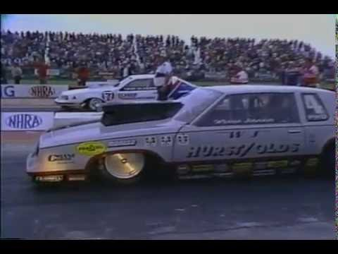Drag Racing 1984 NHRA U S  Nationals PRO STOCK Final Round