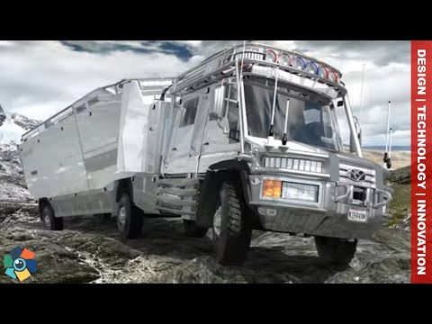 10 AMAZING CAMPERS AND RVs - PAST AND PRESENT