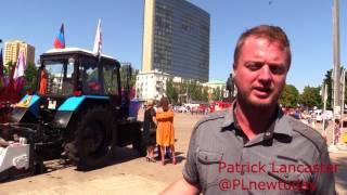 Праздничные выходные в Донецке, репортаж #1, начало