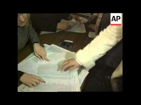 Tymoshenko voting in Ukrainian parliamentary elections