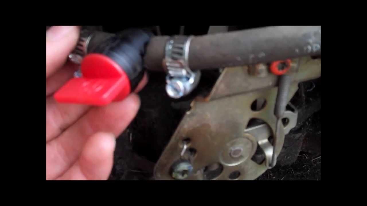 how to install an inline fuel shut off valve [ 1280 x 720 Pixel ]