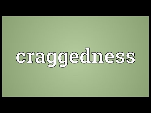 Header of craggedness