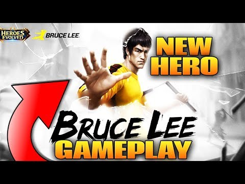 Heroes Evolved: New Hero Bruce Lee Gameplay