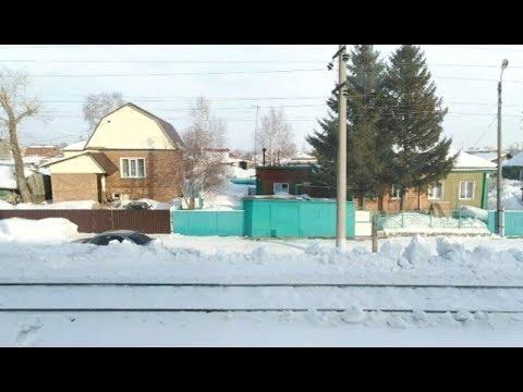 Вид из окна поезда . ст.Алтайская-Тюмень.
