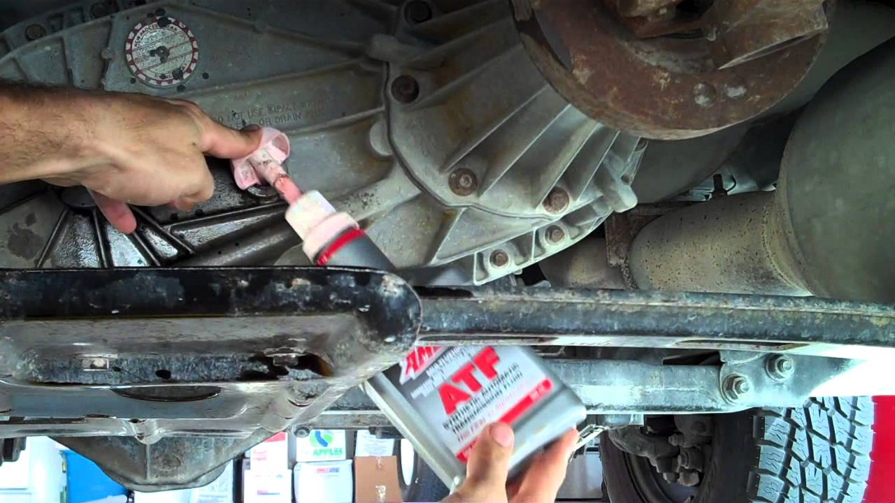 chevy 2500 transfer case oil