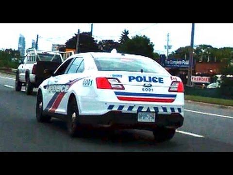 Polizia Stradale a Toronto Ontario Canada La vita in Canada Parte 2
