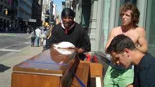 Top 5 Hip Hop Moments While Traveling with a Piano