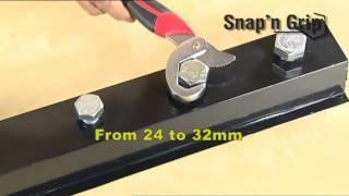 Kunci Pas Universal - Snap N Grip - Kunci Inggris - Wrench Original