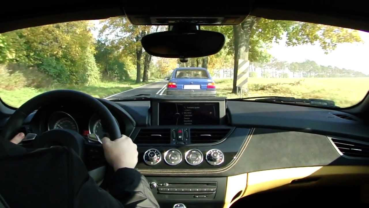 Bmw Z4 Sdrive 35is E89 Dkg Driving On Tour Youtube