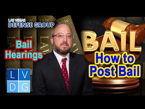 How do I post bail in Las Vegas, Nevada?