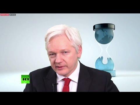 Пресс-конференция главного редактора WikiLeaks в связи с публикациями утечек из ЦРУ