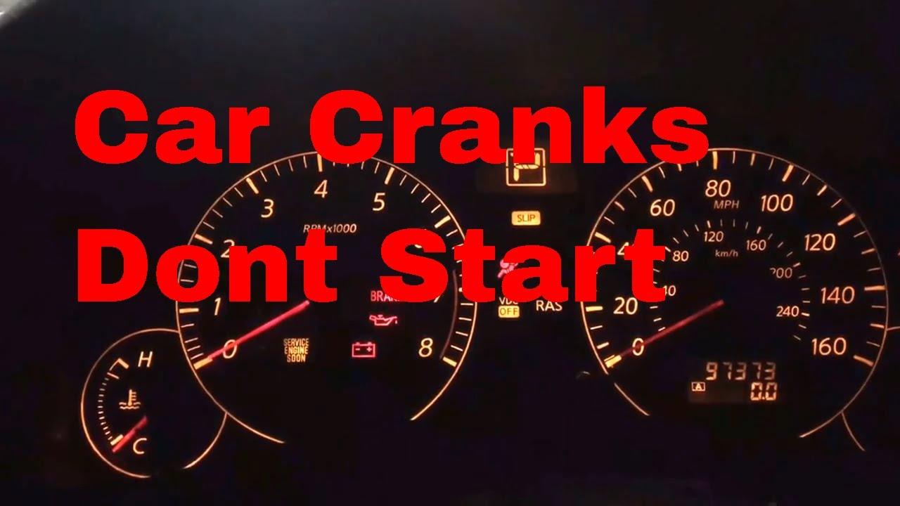 nissan and infiniti cranks no start no spark no injector pulse [ 1280 x 720 Pixel ]