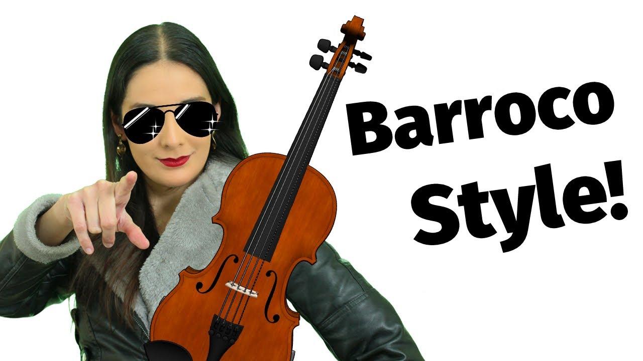 ¡Minuet de BACH al estilo Barroco!😱🎻Hermosa pieza de Violín y Clavecín fácil de tocar con partitura