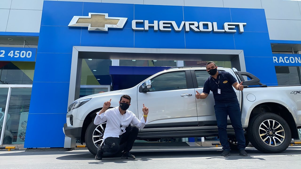 Chevrolet S10 turbo diesel 200 cv no test drive Pedragon de Manaus p/ o mundo