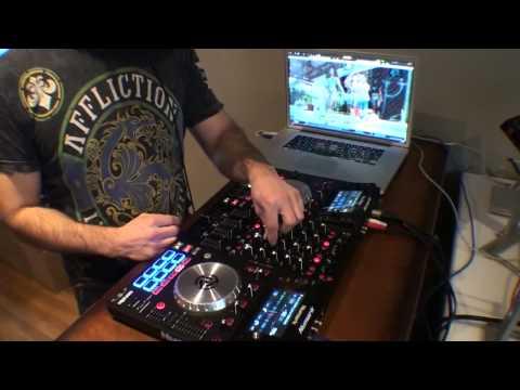Numark NV live mix DJ POLO NYC  HipHOP Twerk mix Video mix