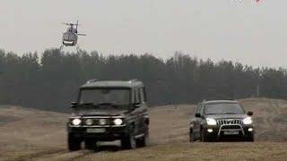 Гаишники (2008) 6 серия - car chase scene #2