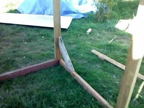 Chicken coop, engineering the chickens estate