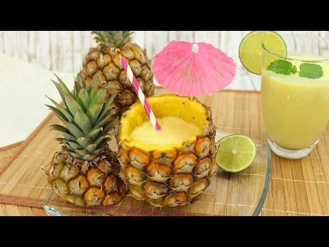 Ananas Shake (Low-Carb&vegan) #AnysLowCarbWOCHE