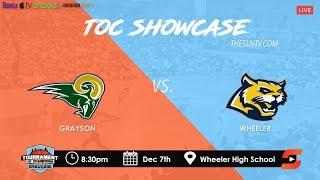 2019 TOC Showcase - Wheeler vs. Grayson (CALEB MURPHY & DEVION SMITH vs. SAM HINES & ISAIAH COLLIER)