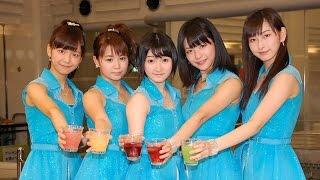 ハロー!プロジェクトの5人組アイドルグループ・Juice=Juiceが2日、東京・池袋サンシャインで5thシングル「背伸び/伊達じゃないよ うちの人生は」(1日発売)発売記念 ...