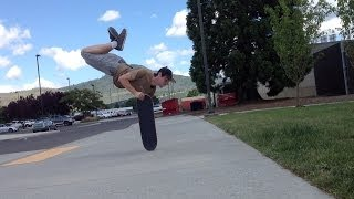 Mind-Bending Freestyle Skateboarding Tricks!