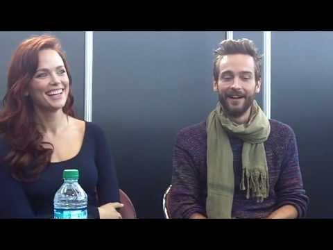 NYCC 2013 Sleepy Hollow   Katia Winter and Tom Mison