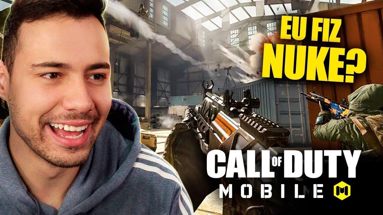 SOU O MELHOR JOGADOR DO BRASIL! - Call of Duty Mobile