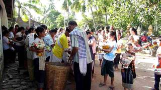 End of Buddhist Lent in Pakse, Laos 04