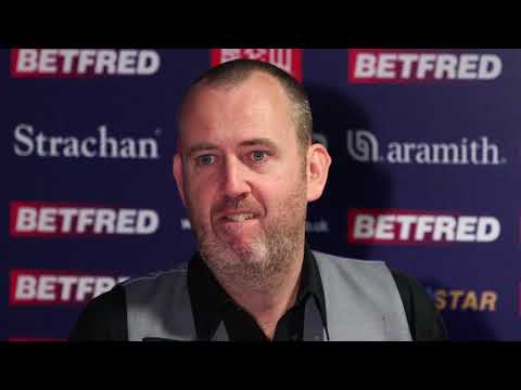 """It was a fluke, I don't practice it"" - Mark Williams - 1st Round Press Conference"