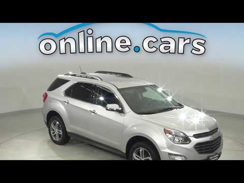 A13927GP Used 2017 Chevrolet Equinox Silver SUV Test Drive, Review, For Sale