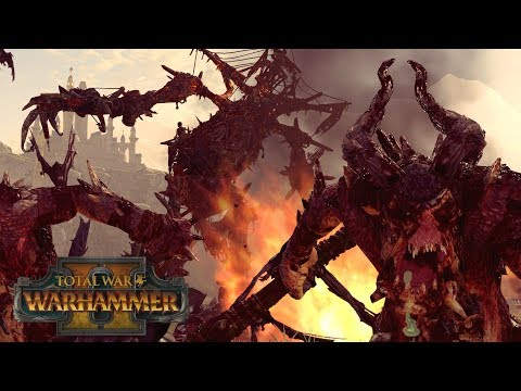 THE GALLOWS GIANT - Vampire Coast vs Warriors of Chaos // Total War: Warhammer II Online Battle