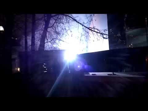 Химки - крупный пожар на стройке