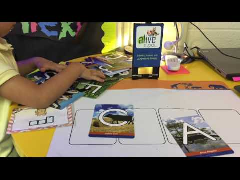 Letters alive™ Reading Curriculum: Augmented reality that makes learning to read fun!